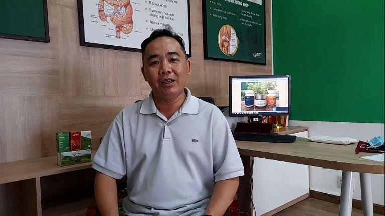 Anh Lê Quốc Hưng chia sẻ bệnh dạ dày