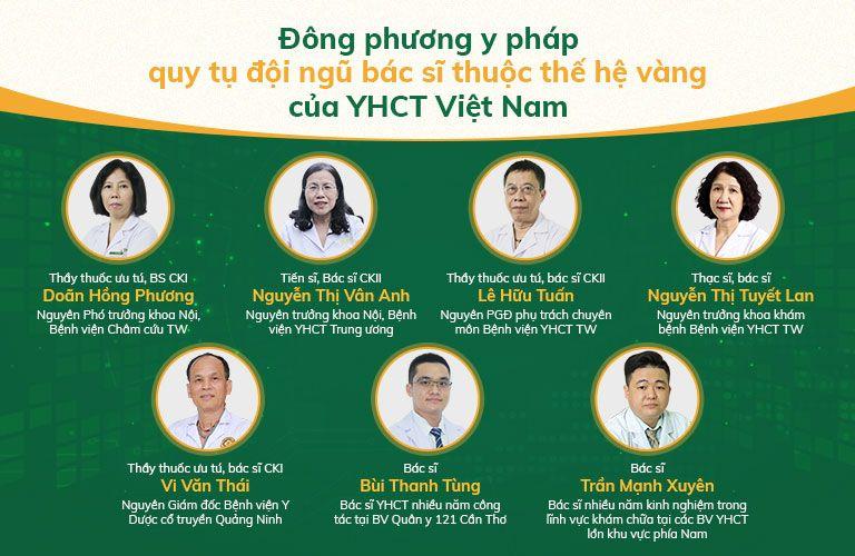 Đội ngũ bác sĩ Đông phương Y pháp