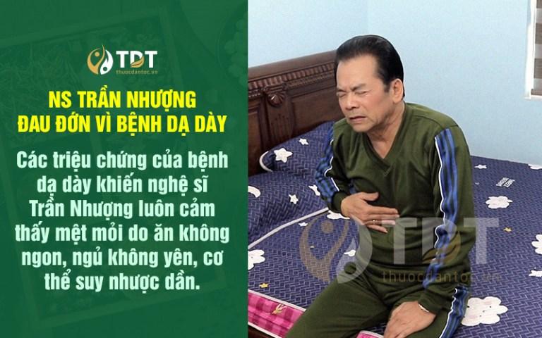 Căn bệnh dạ dày khiến NS Trần Nhượng ăn không ngon ngủ không yên