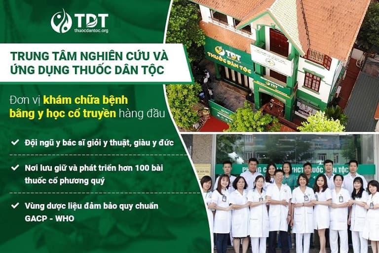 Trung tâm Thuốc dân tộc - Đơn vị chữa trào ngược dạ dày bằng YHCT tốt nhất hiện nay