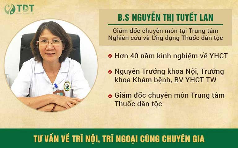 Bác sĩ Tuyết Lan trực tiếp thăm khám của NS Chiến Thắng