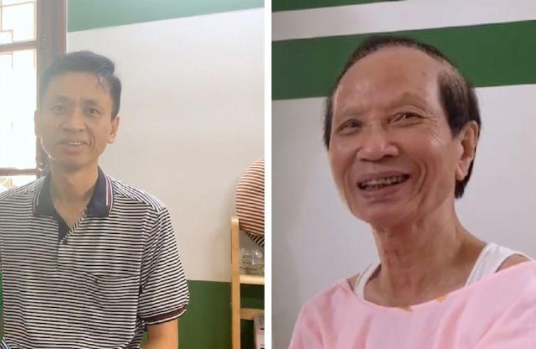 Anh Năng Lượng và bố mình chữa bệnh dạ dày thành công tại Thuốc dân tộc