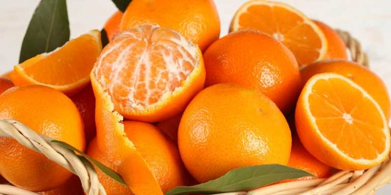 Hạn chế hoa quả có tính chua như cam, quýt để tránh tổn thương dạ dày