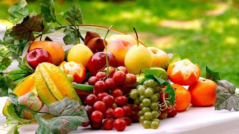 Hoa quả là nguồn thực phẩm cung cấp một lượng lớn các vitamin cho cơ thể