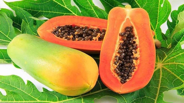 Đu đủ giàu vitamin cũng là đáp án cho câu hỏi đau dạ dày nên ăn hoa quả gì