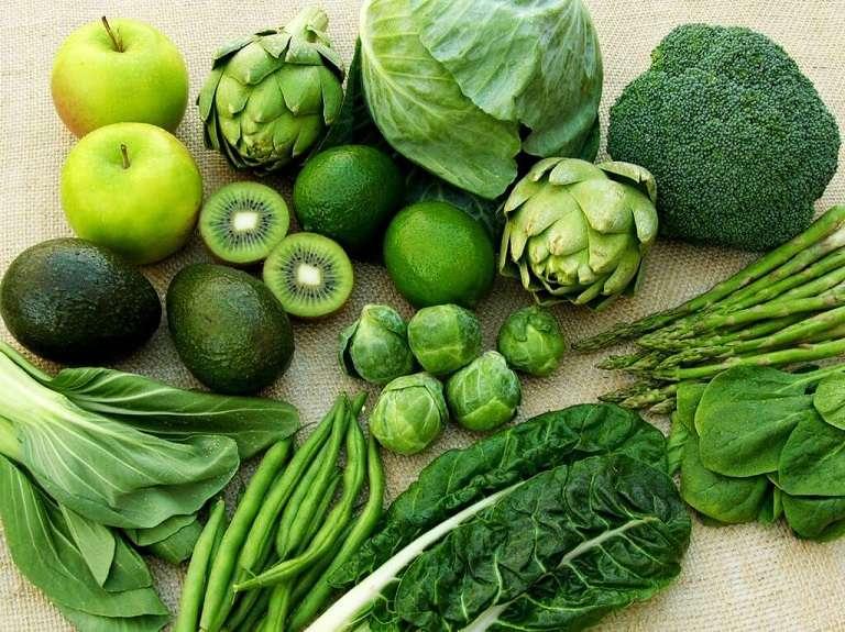Thực đơn cho người đau dạ dày nên có các loại rau củ quả