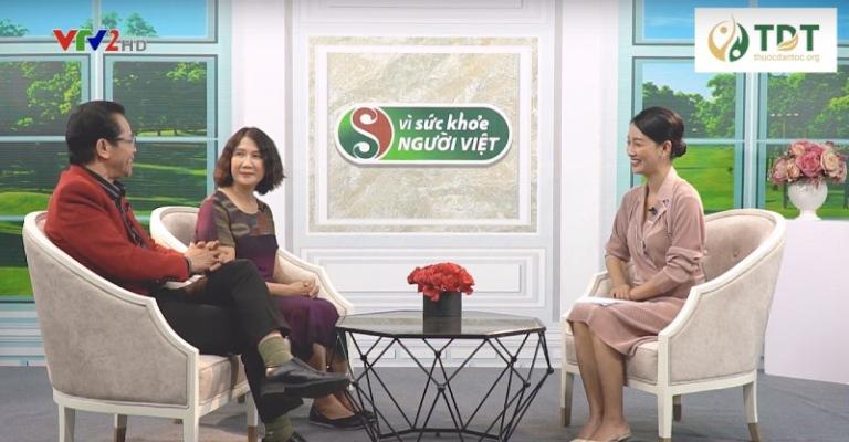 """Bác sĩ Tuyết Lan giới thiệu bài thuốc trên chương trình """"Vì sức khỏe người Việt"""""""