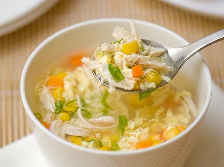 Các loại cháo, súp mềm dễ tiêu hóa - Câu trả lời cho trẻ em bị đau dạ dày nên ăn gì