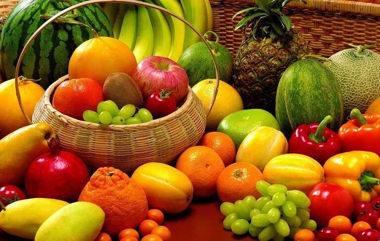 Các loại hoa quả, trái cây giàu vitamin, giàu dinh dưỡng