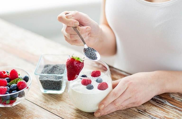 Sữa chua tốt cho hệ tiêu hóa