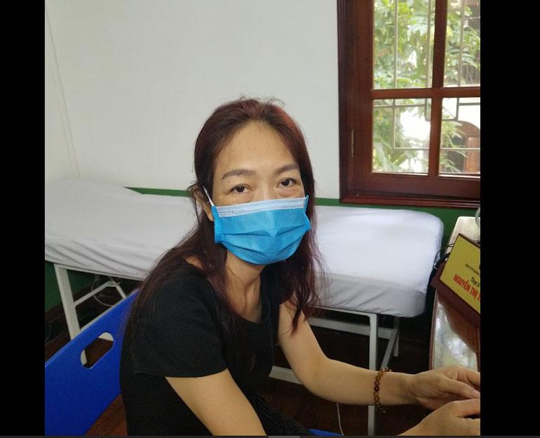 Cô Xuân Phương chia sẻ về tình trạng bệnh