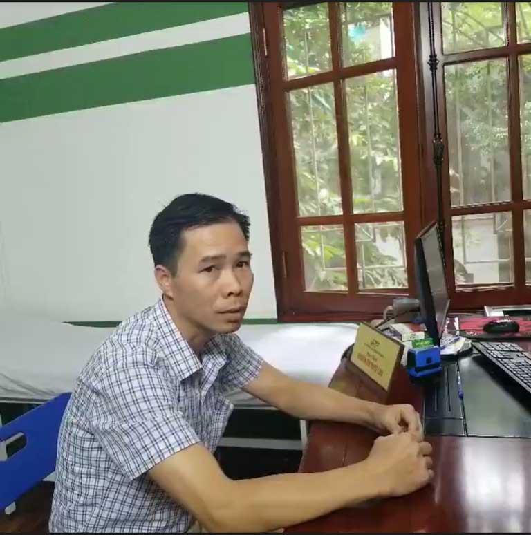 Anh Nguyễn Văn Phán chia sẻ về tình trạng bệnh dạ dày của mình