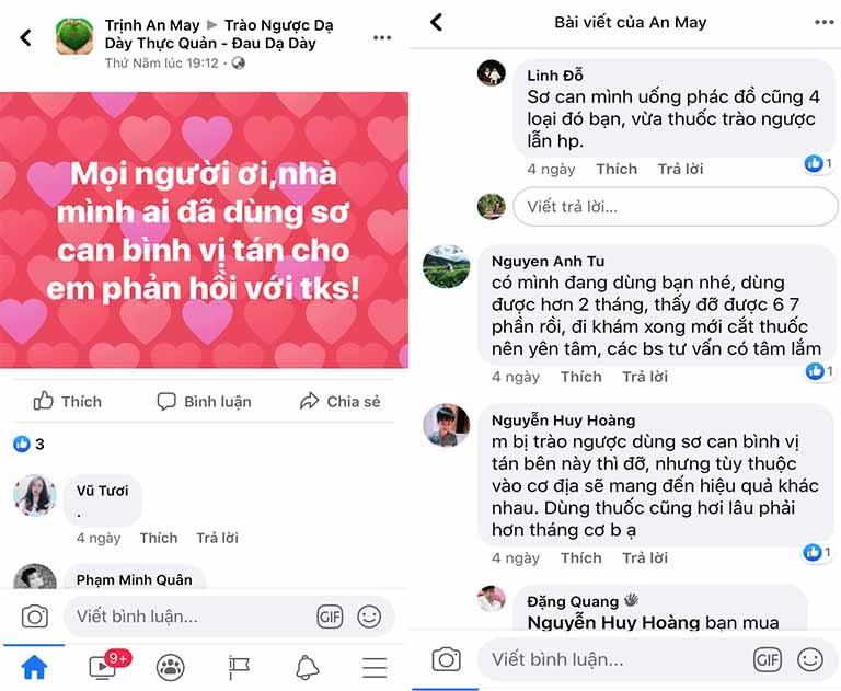 Bài thuốc Sơ can Bình vị tán trên mạng xã hội