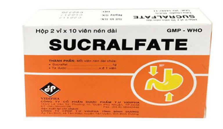 Thuốc đau dạ dày cho phụ nữ mang thai - Sucralfate