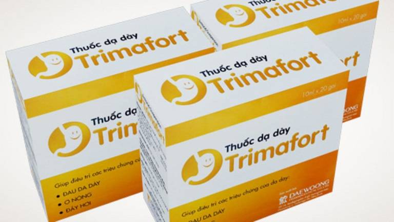 Thuốc giảm đau dạ dày dạng sữa Trimafort.