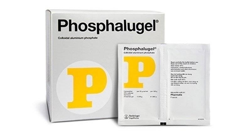 Thuốc đau dạ dày Phosphalugel.